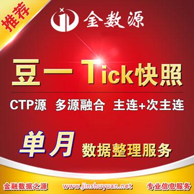 大豆tick数据期货tick数据单品种